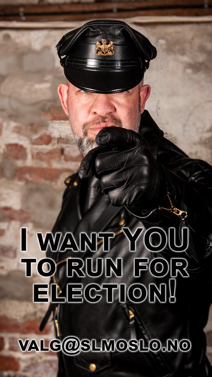 I want YOU to run for election!