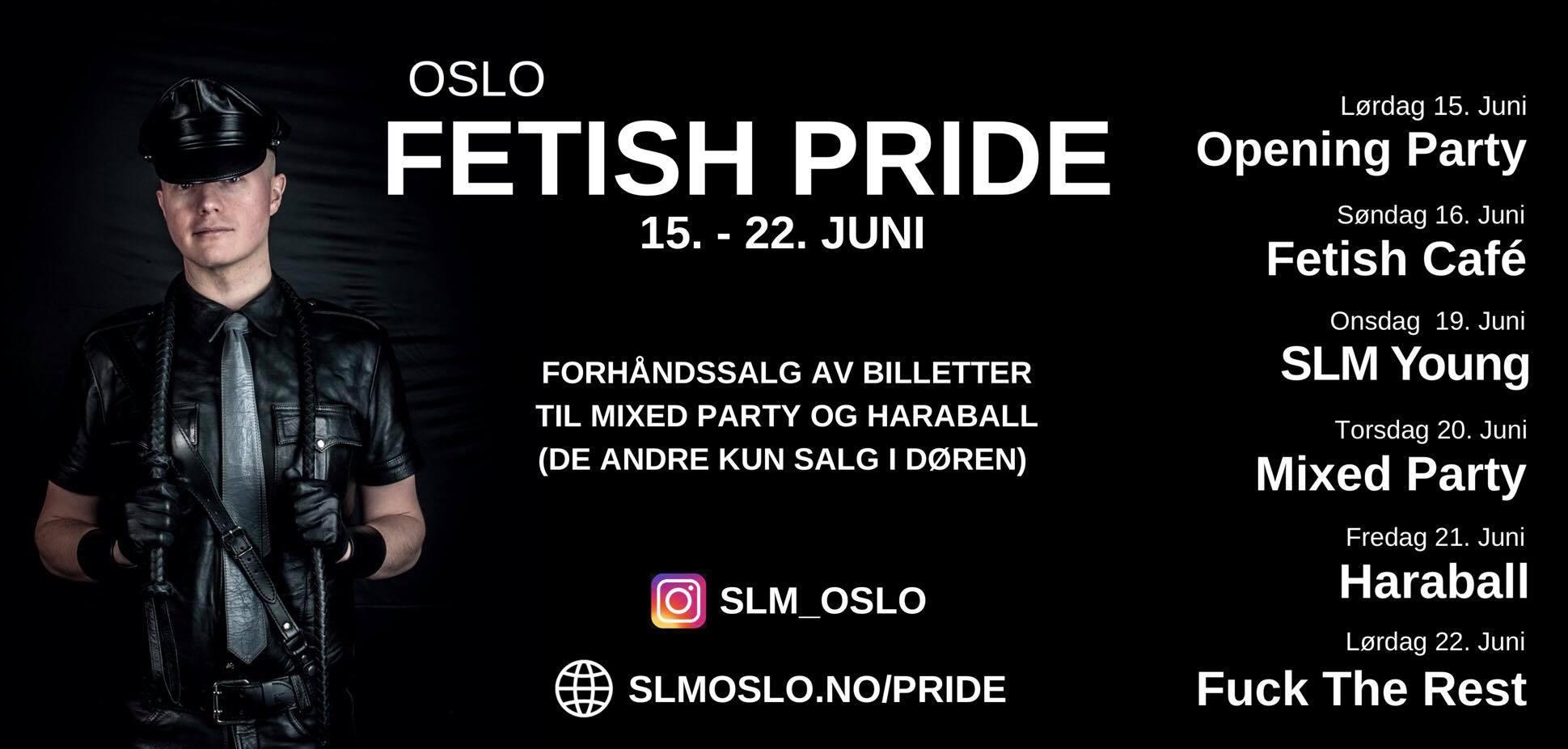 Banner Oslo Fetish Pride 2019